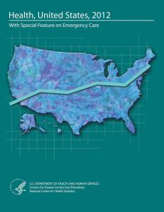 Health, United States:2012 Cover
